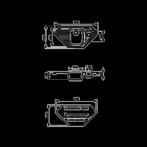 Мойка кухонная GS 10 К 307 терракот - Схема установки