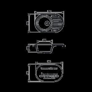 Мойка кухонная GS 18 L 308 черная - Схема установки